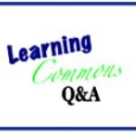 Learning Commons Q&A button